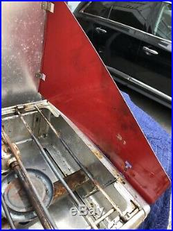 Vintage Coleman 442A Aluminum Camp Stove 2 Burner 1964 Red Diamond Logo