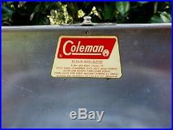 Vintage Coleman 442A Aluminum Camp Stove with Original Box 1964