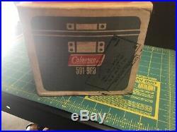 Vintage Coleman 502 Stove And 501-960 Cook Kit Unused/new