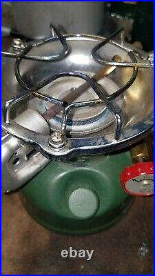 Vintage Coleman 502 Stove With Cook Kit