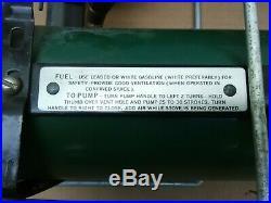 Vintage Coleman 523 Gasoline Stove U. S. Army Medical Dept. With case