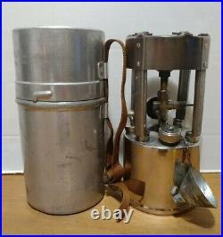 Vintage Coleman 530 B46 GI Pocket Stove Canister Funnel