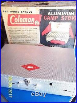Vintage Coleman Aluminum 2-burner Camp Stove Model #442-710