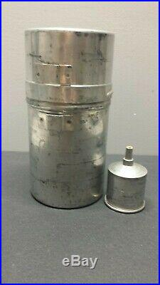 Vintage Coleman G. I. Pocket Stove model 530 A47 Camping Backpacking with Funnel #0