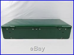 Vintage Coleman Green 3 Burner Camp Stove Copper Fuel Tank Model 426B 426 USA