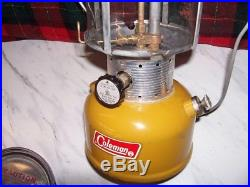 Vintage Coleman Lantern Gold Bond 228 F 1/72 Goldbond