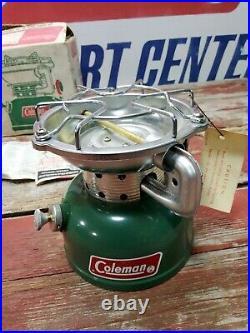 Vintage Coleman Nos Unfired Model 502-700 Dated 9/76 One Burner Sportster Stove