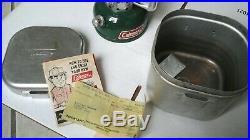 Vintage Coleman Single Burner Sportster 502 Camping Stove + Case