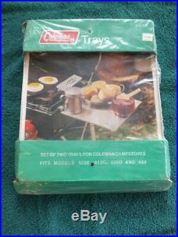 Vintage Coleman Stove Chef Side Trays Fits 425 413 426 459 Model 413-731 Rare