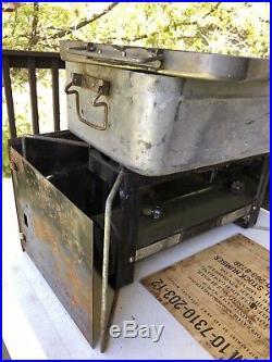 Vintage Coleman US Military Liquid Fuel Stove 1964 Vietnam