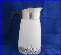 Vintage Corning Ware Renaissance 9 Cup Stove Top Coffee Pot Percolator