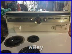 Vintage GE Electric Range Oven Stove GENERAL ELECTRIC