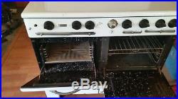Vintage Gas Stove Range CP superior 6 burner