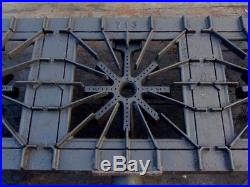 Vintage Griswold Cast Iron Gas Grill Plate Stove 713 3 Burner Rare Works