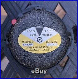 Vintage JBL LE 5-2 Mid Range Speaker NOS
