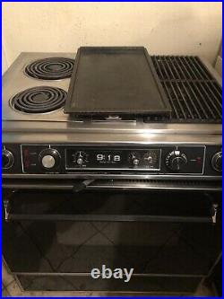 Vintage Jenn air s120 downdraft range with Griddle & grill unit