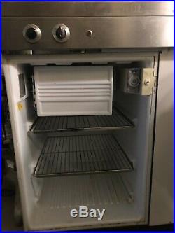 Vintage King Kitchenette Sink Fridge Stove Kitchen Unit Tiny House RV