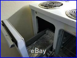 Vintage Kitchen Range/Stove GE 40 inch BEAUTY 60s/70s WORKING! RETRO KITCHEN