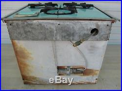 Vintage Magic Chef 3 Burner Oven RV Stove Turquoise