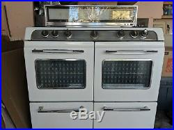 Vintage O'Keefe and Merritt Gas Stove with Double Oven
