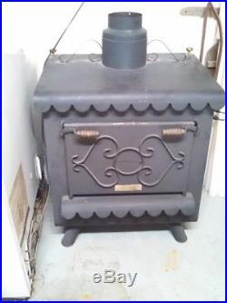 Vintage Original Earth Stove 100 Wood Burning Heating Stove