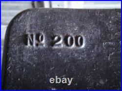 Vintage Stove Fatso No 200 King Stove & Range Co Sheffield Ala 100+ years old