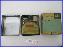 Vintage TAYKIT Pocket Stove Gas Burner Camping, Backpacking or Hiking