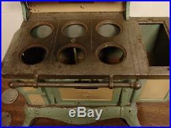 Vintage Vindex cast iron wood stove salesman sample 1929 antique toy