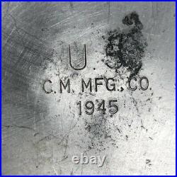 Vintage WW2 M-1942 US MILITARY Single Burner Field Stove C. M. MFG. 1945 with Tool