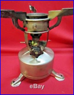 Vintage WWII US Army M-1942 Field Stove withCase PW 1944 Mountain Troops
