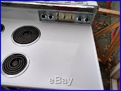 Vintage ge electric stove