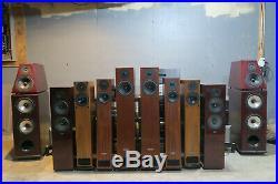 Von Schweikert Audio VR4SR full range Floor standing speakers Cherry Made in USA