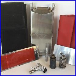 Vtg Camp Stove Campanion Stainless Rare Multi-Function Backpack Snow Peak 1990s