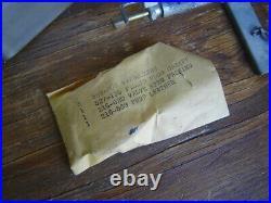 Vtg Coleman 527 Military Burner Medical Stove +can U. S. Pioneer Ww2 Usgi Unfired