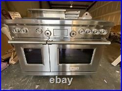 WOLF DF486-G 48 DUAL FUEL RANGE 6 BURNERS WithGRIDDLE