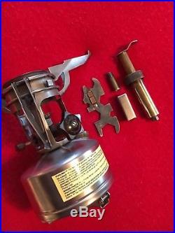 WW2 Stove USMC Army Mountain Ski M1942 Wrench, Parts, 99.9% Mint