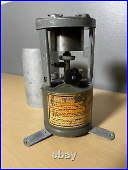 WWII Coleman American 520 G. I. Pocket Stove 1945 U. S. Military WW2