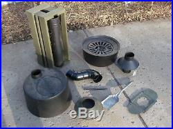 WWII US Army Tent Stove Assy 1942 in Very Good condition some items post warWWII