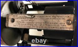 WWII U. S. M-1941 Coleman 520 STOVE 1-BURNER DATED 1945 Pocket Stove