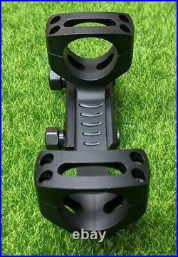 Warne Long Range Skeletonized Precision Mount Black, 20 MOA, 30mm LRSKEL30TW