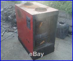 Warnock-Hersey United States Stove Co HOT BLAST Wood Stove Model 1303 + Parts
