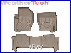 WeatherTech DigitalFit FloorLiner for Range Rover Sport 2008-2013 Tan