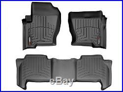 WeatherTech FloorLiner for Land Rover Range Rover Sport 2006-2008 Black