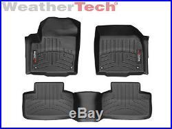 WeatherTech Floor Mats FloorLiner for Range Rover Evoque 2012-2013 Black