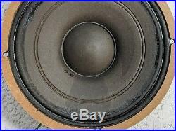 Western Electric 754A Loudspeaker Full Range Speaker Woofer CLEAN
