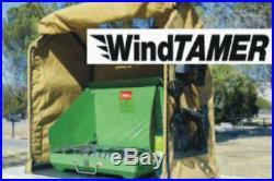 WindTamer Camp Stove accessory dutch oven campground baking wind rain Scouts