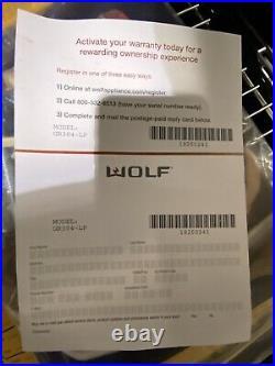Wolf Gr304-lp 30 All Gas Range