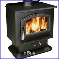 Wood Stove Heater 89,000 BTU EPA Certified 110V 100 CFM Blower 2,000 Sqft