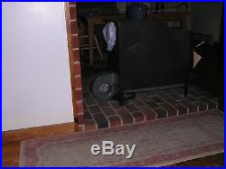 Wood Stove with blower Alpiner model