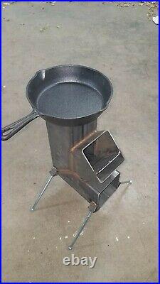 Wood burning camp stove